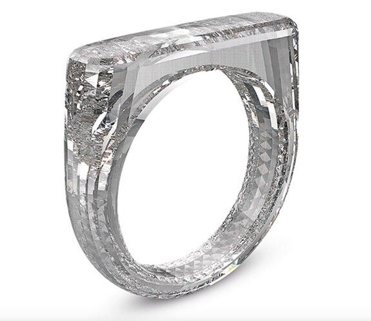 An All Diamond Ring Crafted From a Single Rough Diamond Might Fetch $250,000 at Benefit Auction