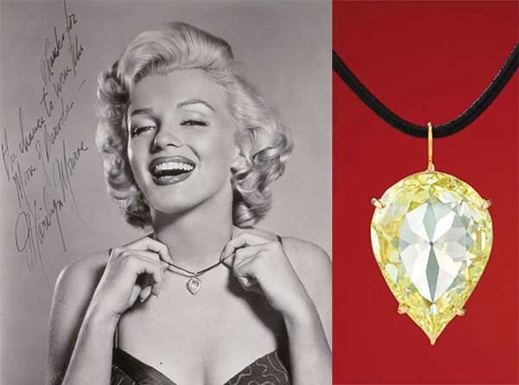 Movie Star Monday; Made Famous by Marilyn Monroe, 'Moon of Baroda' Diamond to Hit the Auction Block