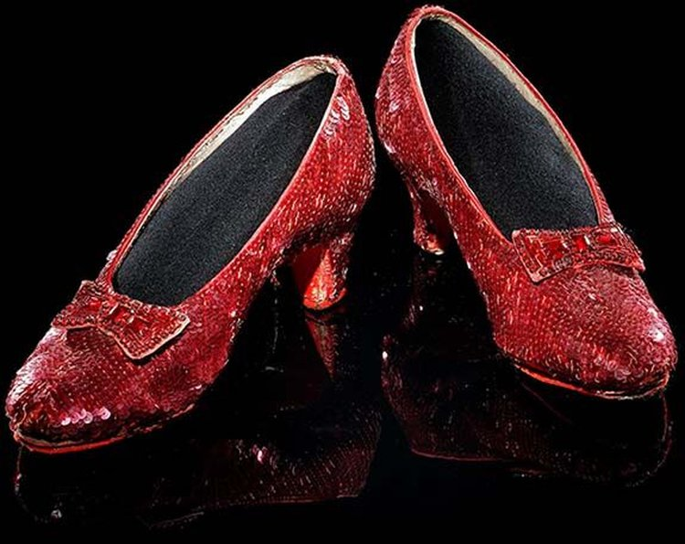 Famous Friday: Dorothy's Famous Ruby Slippers Return to the Smithsonian