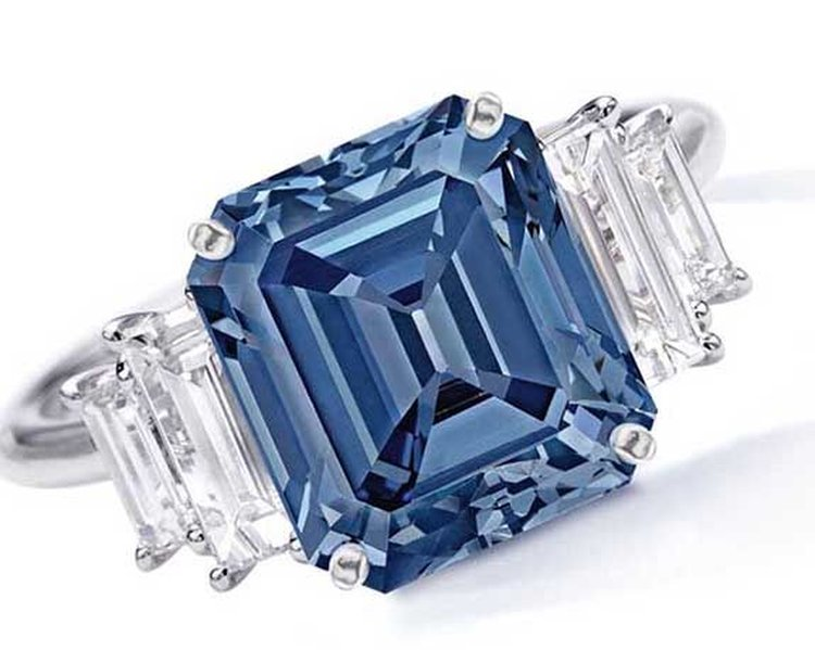 Sotheby's Saturday; 5 Carat Fancy Vivid Blue Love Diamond Could Fetch $15 Million at Sotheby's Hong Kong