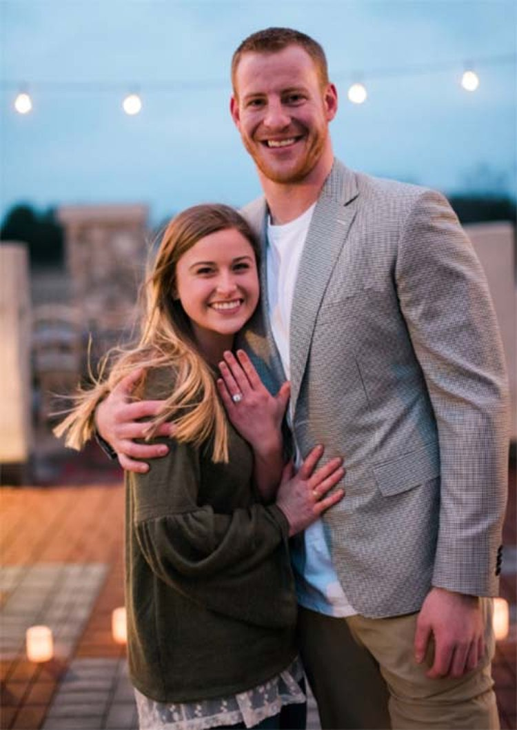 'Maddie and I Both Got Us a Ring,' Exclaimed Newly Engaged Eagles QB Carson Wentz