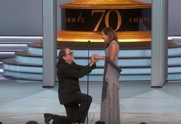 Television Thursday; Emmy Winner Proposes During Live Broadcast With a Ring 'More Valuable Than The Hope Diamond'