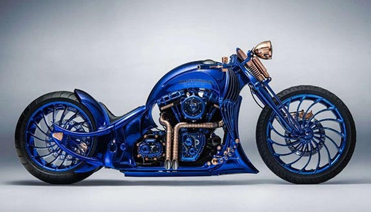 This Blinged-Out $1.9 Million Harley Is the Most Expensive Motorcycle in the World