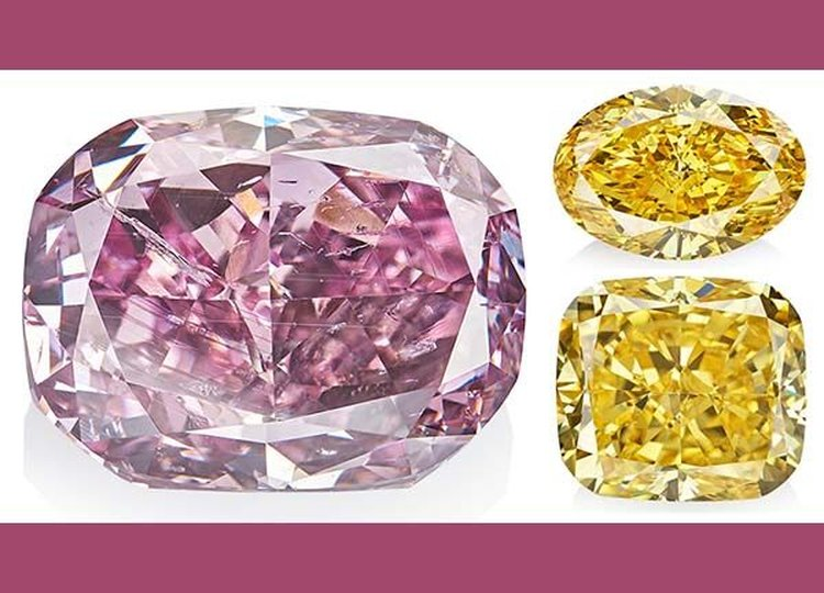 The largest Purplish-Pink Diamond Ever Graded by GIA Headlines Alrosa's 'True Colour' Auction