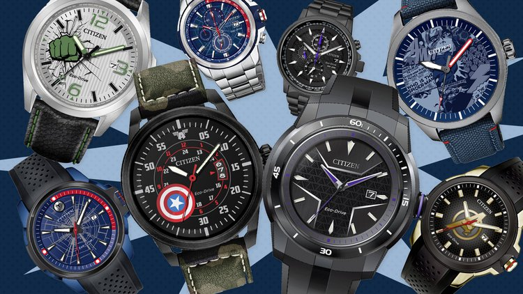 Citizen Watch Partners with Disney and Marvel