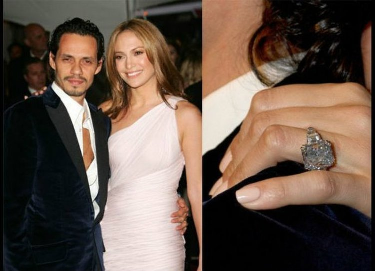 Over The Top Celebrity Diamond Engagement Rings
