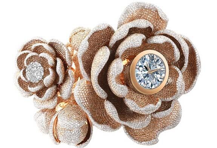 Diamond Watch Set Guinness World Record for the 'Most Diamonds Set on a Watch'
