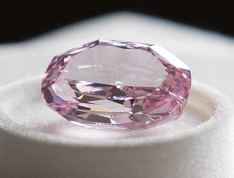 Diamond Mining Company Alrosa Unveils Largest Pink Diamond in Russian History