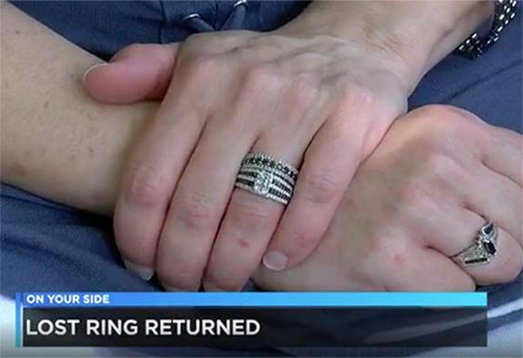 Honest Employees at a Men's Apparel Company Finds Engagement Ring in Pocket of Returned Jeans