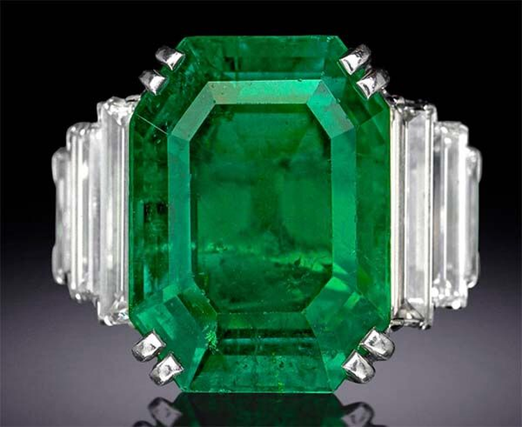 Another Birthstone Feature: 'Maximilian Emerald' Boasts a Rich History That Spans 150+ Years