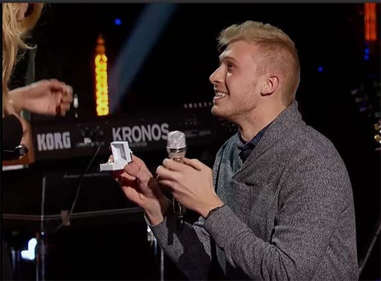 Television Tuesday; Boyfriend Surprises 'American Idol' Contestant With On-Stage Proposal