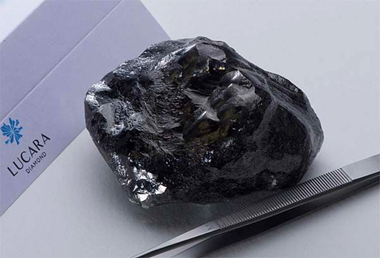 Lucara Recovers 1,758-Carat Diamond at Karowe Mine; It's their Second Largest Ever