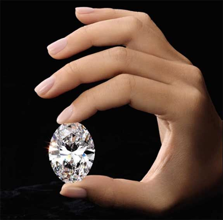 'Perfect' 88.22 Carat Oval Diamond to Headline Sotheby's Hong Kong Auction