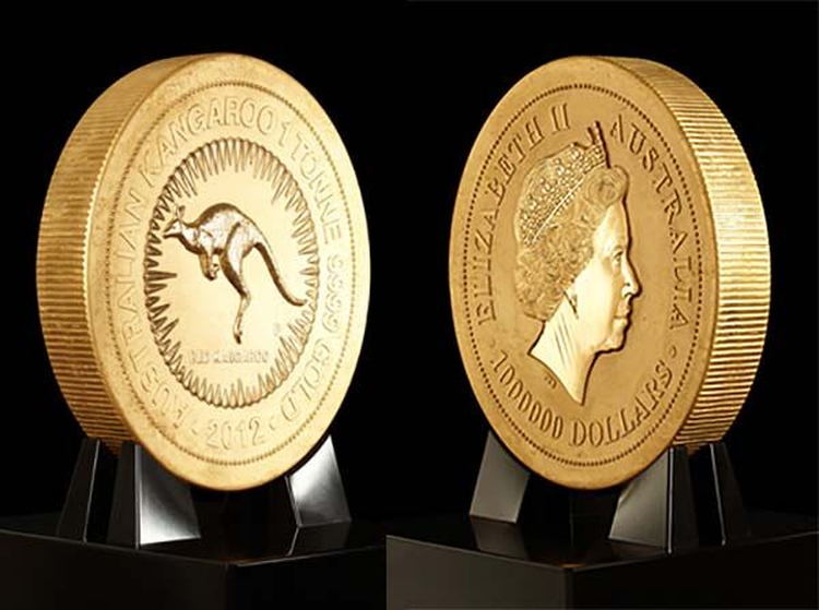 World's Biggest, Heaviest and Most Valuable Coin Makes U.S. Debut Today
