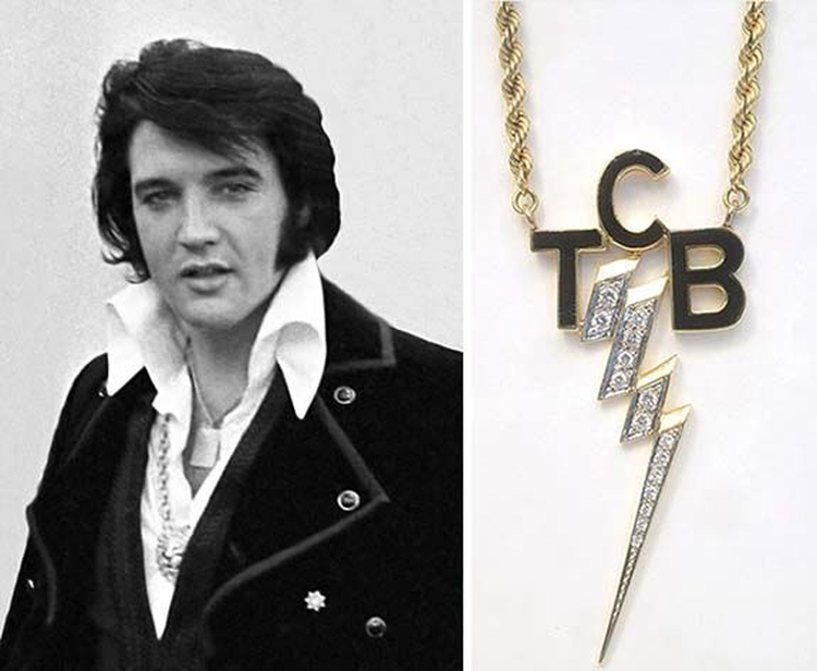 Musical Monday; Elvis's Jewelry has Entered The Building
